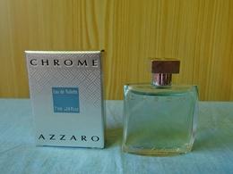 "Miniature ""CHROME ""de AZZARO Eau De Toilette 7 Ml Dans Sa Boite (M076) - Modern Miniatures (from 1961)"