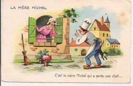 L20G043 - La Mère Michel - C'est La Mère Michel Qui A Perdu Son Chat...- JG - Contes, Fables & Légendes