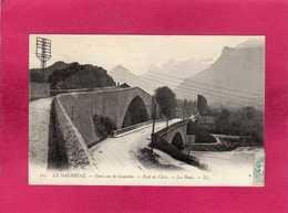 38 Isère, Environs De Grenoble, Pont De Claix, Les Ponts, 1905, (L. L.) - Grenoble