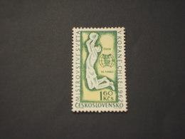 CECOSLOVACCHIA - 1962 PALLACANESTRO  - NUOVI(+) - Czechoslovakia