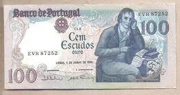 Portogallo - Banconota Circolata Da 100 Scudi P-178e.6 - 1985 - Portogallo