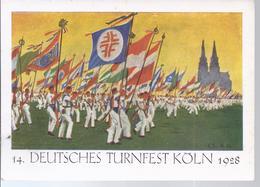 Köln - 14. Deutsches Turnfest 1928    -  AK- 7238 - Koeln