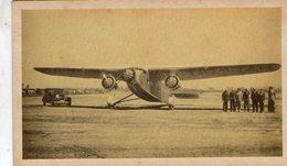Ford Tri-Motor  -  Avion De Transport  -   Carte Information - 1939-1945: 2ème Guerre