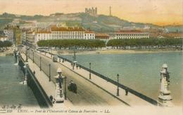 Lyon; Pont De L'Université Et Coteau De Fourvière - écrite. (LL.) - Autres