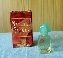 "Rare Miniature ""NATUREL FLOWER "" De EDYSE  Eau De Toilette 4,9 Ml Dans Sa Boite (M076) - Mignon Di Profumo Moderni (a Partire Dal 1961)"