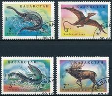 Kasachstan Michel 64-67, Sauber Gestempelt - Preistorici