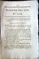 PECHE AU CHALUT  REGLEMENTATION DES FILETS DITS RETS TRAVERSIER DIMENSION ET POIDS POISSON HARENGS 1818 - Décrets & Lois