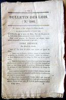 PECHE FLUVIALE REGLEMENTATION DE LA PECHE POUR LES RIVERAINS 1829 - Décrets & Lois