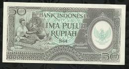 INDONESIE . 50 ROUPIES . 1964 . - Indonésie