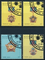 Kasachstan Michel 178-181, Sauber Gestempelt - Kazakhstan