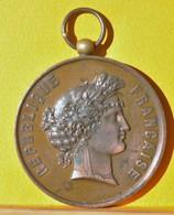 Médaille Bronze - Ecole Régionale Des Arts Industriels - St Etienne (Loire)  Cours De Gravure - 3ème Prix  Gges DUPRE _ - Frankrijk