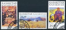 Kasachstan Michel 185-187, Sauber Gestempelt - Kazakhstan