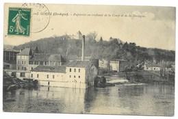 24-COUZE-Papeteries Au Confluent De La Couze Et De La Dordogne...1912 - France
