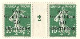 Millésime Semeuse Syrie Yvert 90 Maury 95 - Syrie (1919-1945)