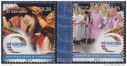 EL SALVADOR, 2015, MNH,CULTURE, COSTUMES, SHELLS, 2v - Other