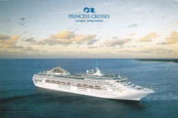 PRINCESS CRUISES ADVERT CARD - Ships