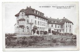 WIMEREUX - Hôtel Cosmopolite Et Du Golf - Zonder Classificatie