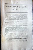TRAITE DES NOIRS ESCLAVAGE ILE BOURBON LA REUNION ORDONNANCE DE RECOURS EN CASSATION 1823 - Décrets & Lois