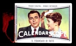 CALENDARIETTO 1958 STAR HOLLYWOOD MARLON BRANDO  MARILYN MONROE FRANK SINATRA JAMES DEAN - Formato Piccolo : 1941-60
