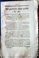 DOM TOM SAINT DOMINGUE  ORDONNANCE ACCORDANT L'INDEPENDANCE DE LEUR GOUVERNEMENT 1825 - Décrets & Lois
