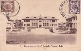 Governement Girl's School Penang S.S Malaysia Malaisie - Malaysia