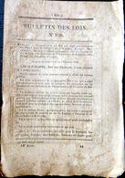 CHEMIN DE FER TRAIN RESEAU DU NORD 1842 TARIFS SUR LES CHEMINS DE FER DE LILLE  ET LA BELGIQUE - Décrets & Lois