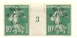 Millésime Semeuse Syrie Yvert 128 Maury 133 - Syrie (1919-1945)