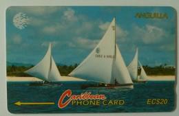 ANGUILLA - GPT - ANG-3AA - 3CAGA - Sailing Boat - $20 - USED - Anguilla
