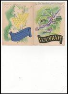 DEPLIANT   VOUVRAY - Vieux Papiers
