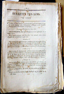 87 LIMOGES 63 CLERMONT CHEMIN DE FER TRAIN CREATION DE LIGNES ET EMBRANCHEMENTS 1846 - Décrets & Lois