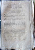 76 ROUEN 50 CHERBOURG  14 CAEN CHEMIN DE FER TRAIN CREATION DE LIGNES ET EMBRANCHEMENTS 1846 - Décrets & Lois