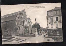 [28] Eure Et Loir > Nogent Le Rotrou Rue Gouverneur Et Eglise Notre Dame - Nogent Le Rotrou