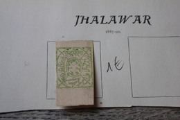 Lot De Timbre Ancien Jhalawar Sur Page D'album - Gran Bretagna (vecchie Colonie E Protettorati)
