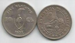 Bolivia 10 Centavos 1937. KM#180 - Bolivie