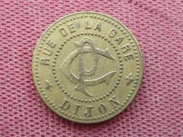 Jeton Paris Chanson Rue De La Gare DIJON - Monetary / Of Necessity