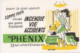 BUVARD ASSURANCE PHENIX INCENDIE VIE ACCIDENTS - Banque & Assurance
