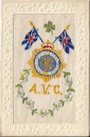 Carte Brodée Royal British Army Regiment Army  Veterinary Corps.MELTON MOWBRAY - Regiments