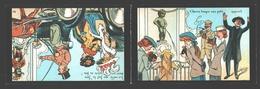 Cartophilie - Manneken-Pis Club - Cercle Cartophilique De Bruxelles / Brusselse Prentkaartenclub - 1986 - Carte Double - Bourses & Salons De Collections