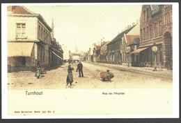 Cartophilie - Brusselse Prentkaartenclub Manneken-Pis - Kalender 2003 - Repro Turnhout - Rue De L'Hopital - Bourses & Salons De Collections