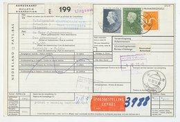 Em. Juliana Pakketkaart Uitgeest - Belgie 1970 - 1891-1948 (Wilhelmine)