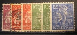 Allemagne Empire - YT 145 à 148 - Allemagne