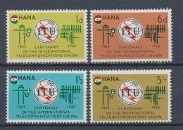 Ghana 1965 Mi: 210-213 Yt: 193-196 (PF/MNH/Neuf Sans Ch/**)(3810) - Ghana (1957-...)