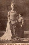 Célébrités > Femmes Célèbres Brunhilde La Plus Belle Et La Plus Grande Géante - Femmes Célèbres