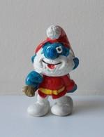 - SCHTROUMPF - Grand Schtroumpf Père Noël - Peyo 1981 - Schleich - - Smurfs