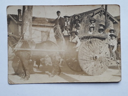 "CPA - Carte Photo - ANDERNOS-LES-BAINS - Souvenir De La Mi-Carême Andernos 1926 - ""Bibise Roques Andernos Gironde"" 2 Sca - Andernos-les-Bains"