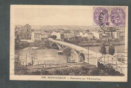 CPA (82) Montauban  -  Panorama Sur Villebourbon - Montauban