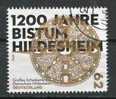 Allemagne Fédérale - Germany - Deutschland 2015 Y&T N°2947 - Michel N°3137 (o) - 62c Diocèse D'Hildesheim - [7] Federal Republic