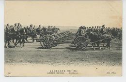 GUERRE 1914-18 - RUSSIA - L'Armée Russe - Artillerie Russe - Guerre 1914-18