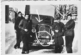 Armée Française CITROEN Camion Libération Avec Croix Américaine ! - Krieg, Militär