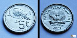 Papua New Guinea - Lot  5 COINS - Papouasie-Nouvelle-Guinée